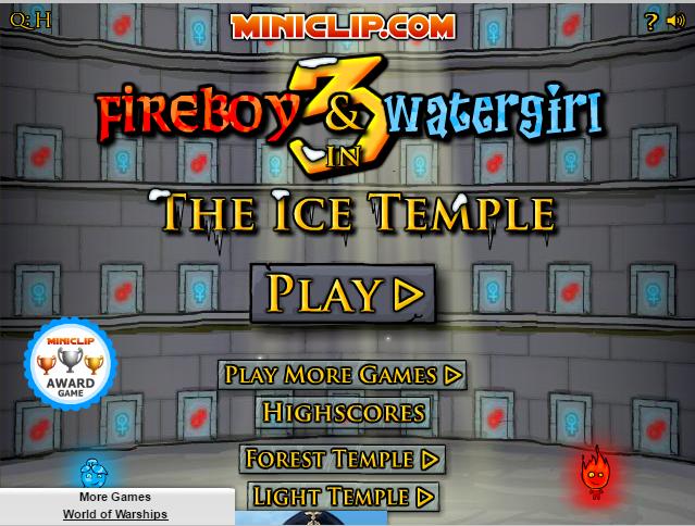 Play Run Fireboy and Watergirl 3
