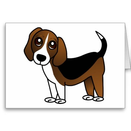 Cute Beagle Cartoon Dog Zazzle Com Cute Beagles Cartoon Dog