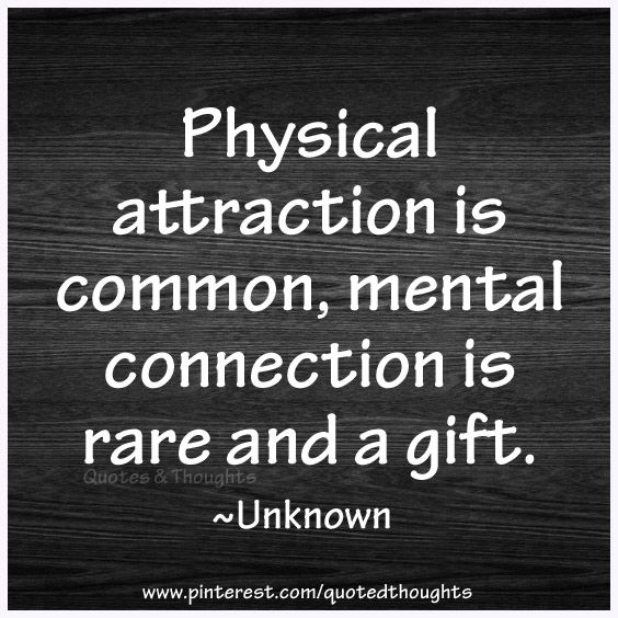 Attraction and connection