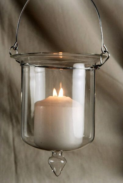 Glass Hanging Candle Holders 5x4 Hanging Candle Holder Hanging Candles Candle Holders
