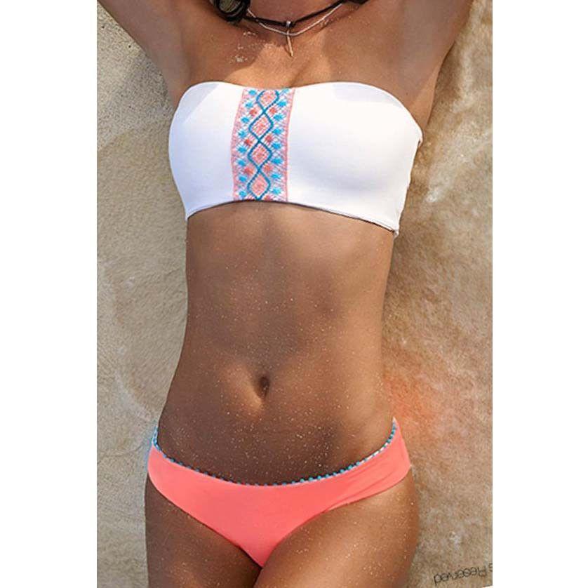 Bohemian chic bikini Padded#216157