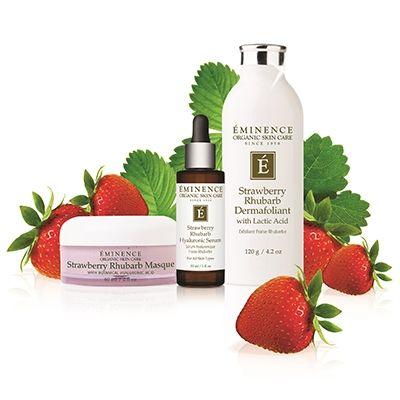 Strawberry Rhubarb Dermafoliant Eminence Organic Skin Care Organic Skin Care Routine Eminence Organic Skin Care Organic Skin Care Lines