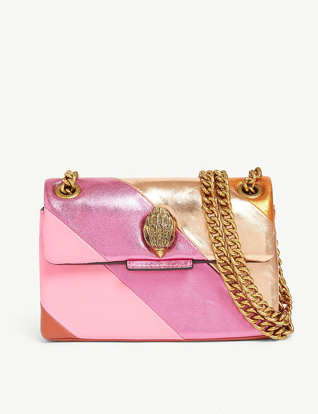 1bd0a26beabf KURT GEIGER LONDON - Mini Kensington S leather shoulder bag |  Selfridges.comm