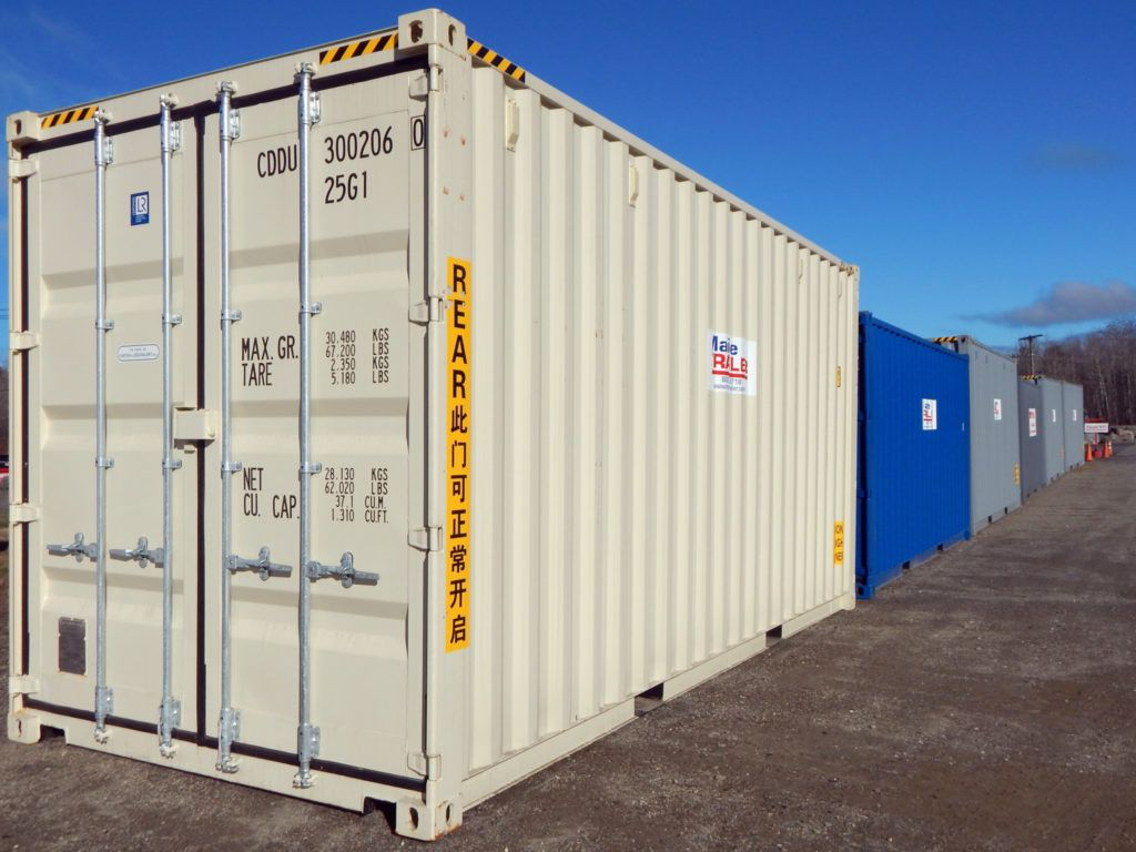 At Maine Trailer You Can Purchase New Or Used Shipping Containers Direct From The Port And Have The Shipping Container Used Shipping Containers Locker Storage