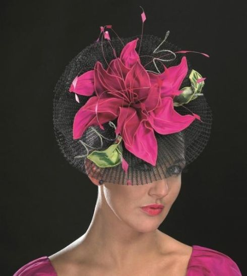 Hats worn at Royal Wedding | This hat is called Ricardo - elegant and timeless, with sinamay trim ...