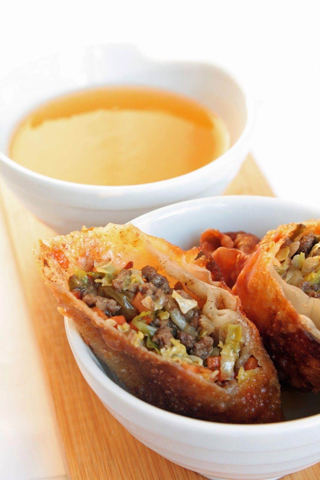 Filipino Lumpia eggrolls   I Breathe I'm Hungry   Idée recette ...