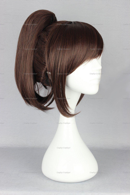 Amazon.com: CosplayerWorld Cosplay Sasha Blouse Attack on Titan Wig 35 CM 380 G WIG-365D: Beauty- Possible Vanellope wig