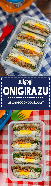 Bulgogi Onigirazu • Just One Cookbook   Recipe   Easy ...
