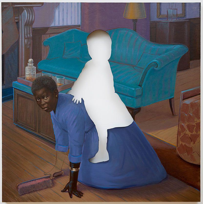 A luta negra na arte de Titus Kaphar