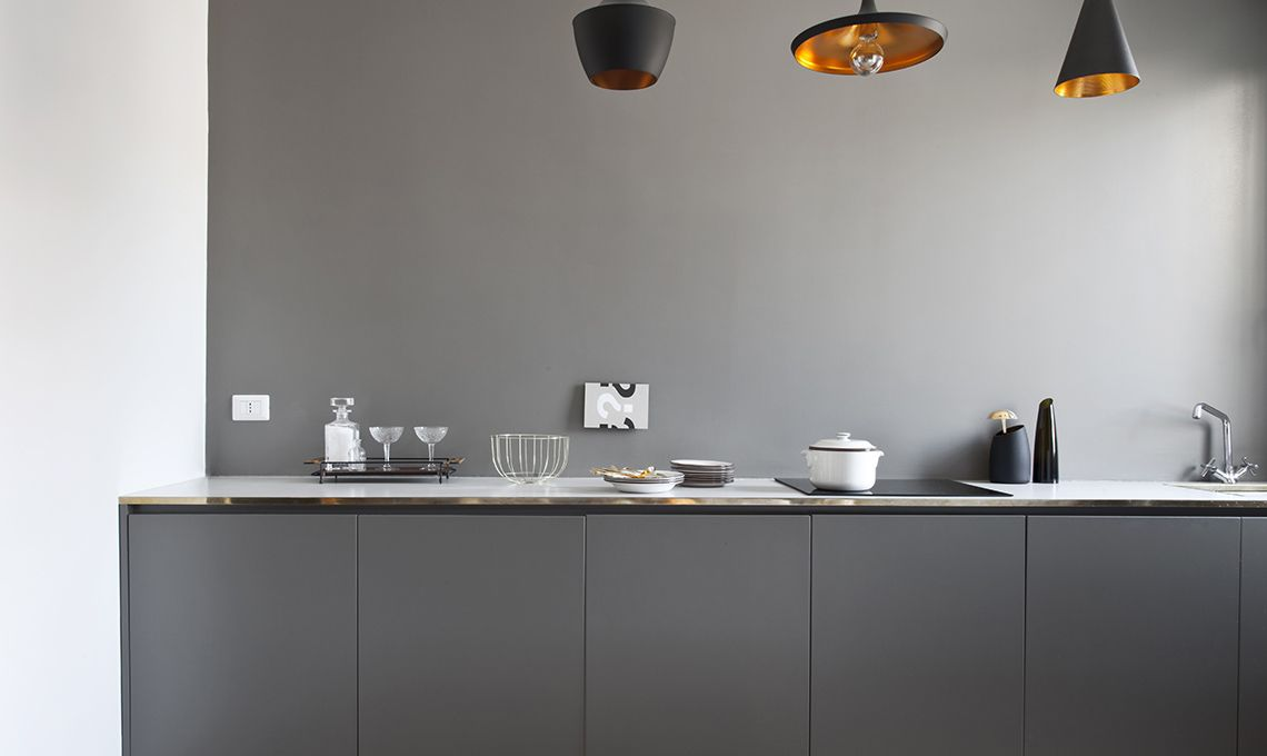 cucina senza pensili | casadiMartina in 2019 | Kitchen ...