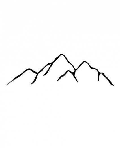 46 Ideas Tattoo Mountain Tiny Mountain Tattoo Mountain Tattoo Simple Small Mountain Tattoo