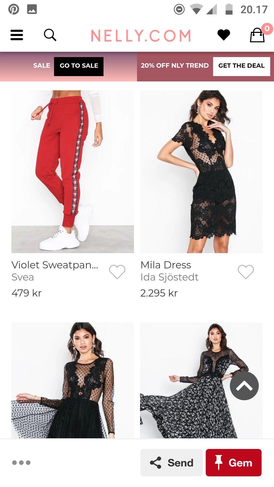 internet shopping tøj