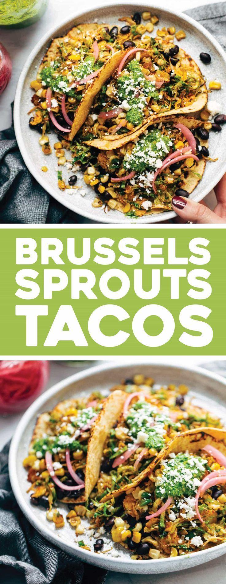 Brussels Sprouts Tacos #mexicanshrimprecipes