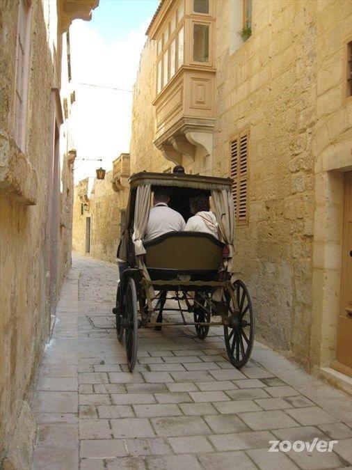 Mooie straatjes in Mdina