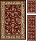 3 Piece Set Persian Floral Red Area Rug Combo Carpet - http://home-garden.goshoppins.com/rugs-carpets/3-piece-set-persian-floral-red-area-rug-combo-carpet/