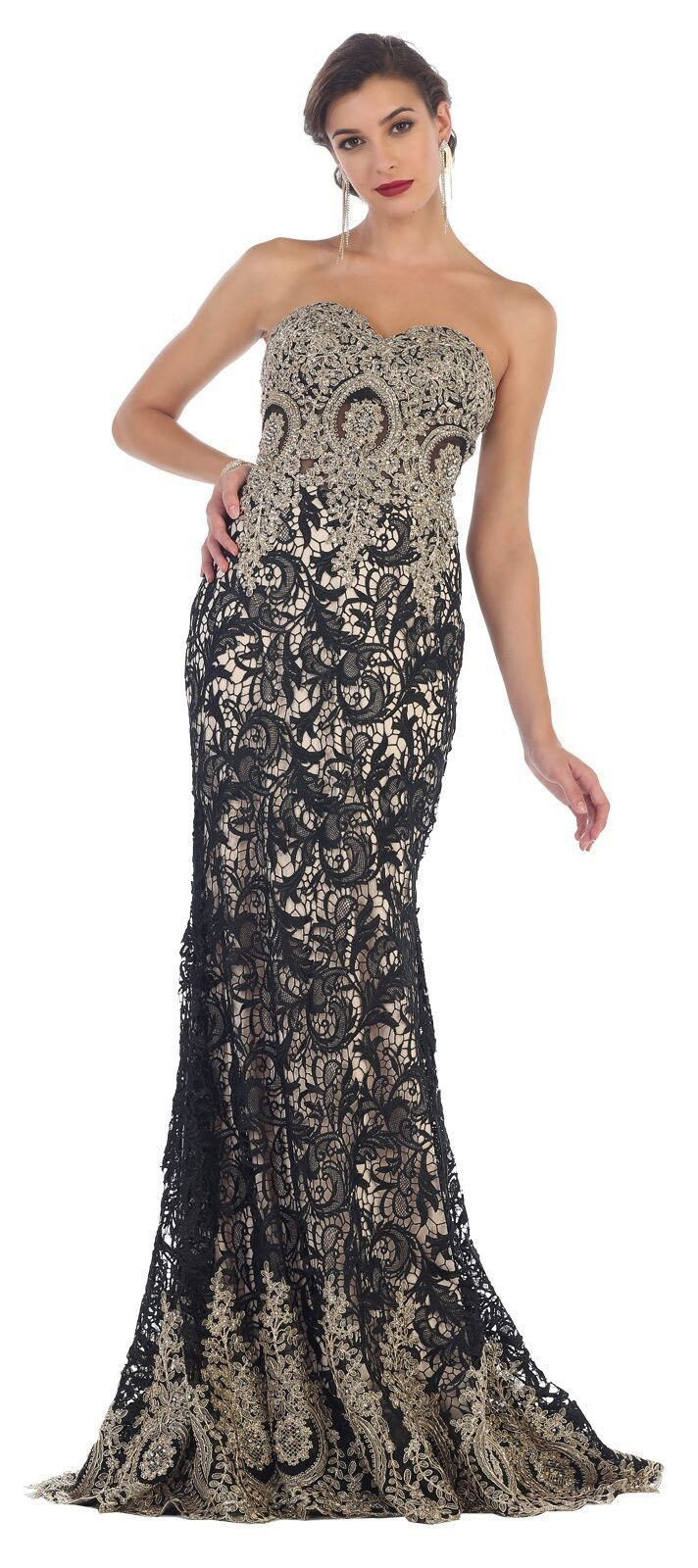 Long prom gown formal evening party dresses products pinterest