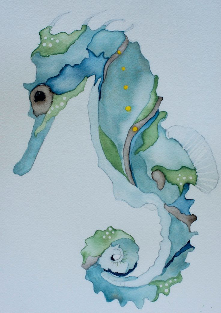 Art Ed Central Loves This Nautical Watercolor Art Blue