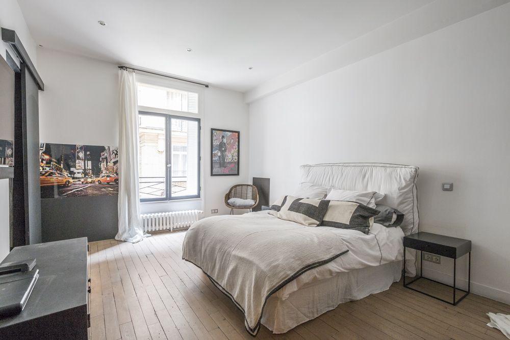 Paris 8e  Appartement contemporain dans immeuble années 30 - Agence