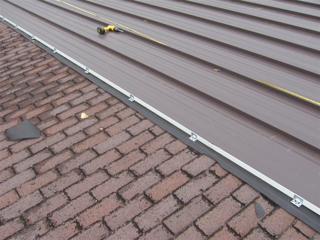 metal roof installation Standing Seam Metal Roof