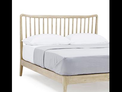 Best Spindle Solid Oak Beds Mid Century Bed Oak Beds 640 x 480