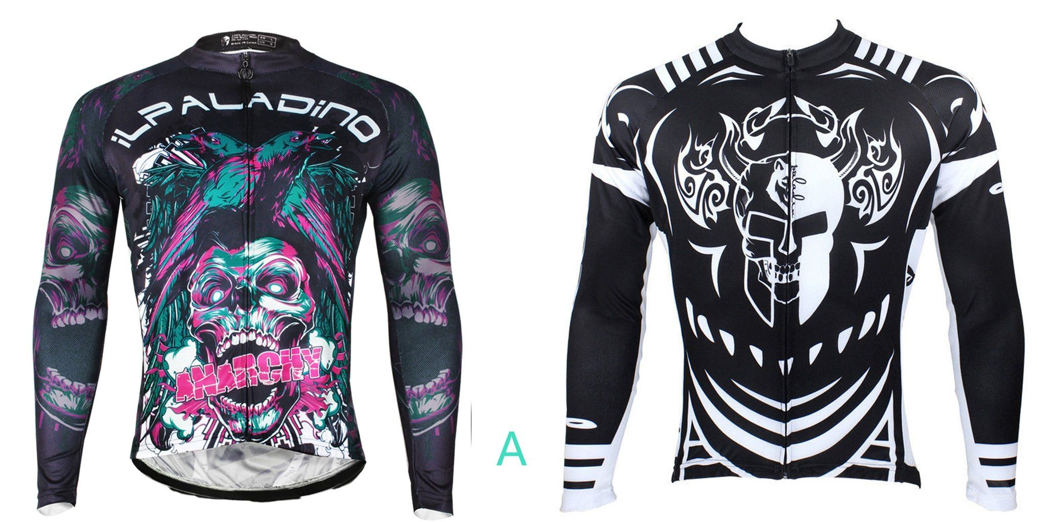 30.99 for Two Men s Cycling Jerseys Short long-sleeve Spring Summer  Sportswear Pro Cycle Clothing Racing Apparel Outdoor Sports Leisure Biking  T-shirt ... a53b1bd8f