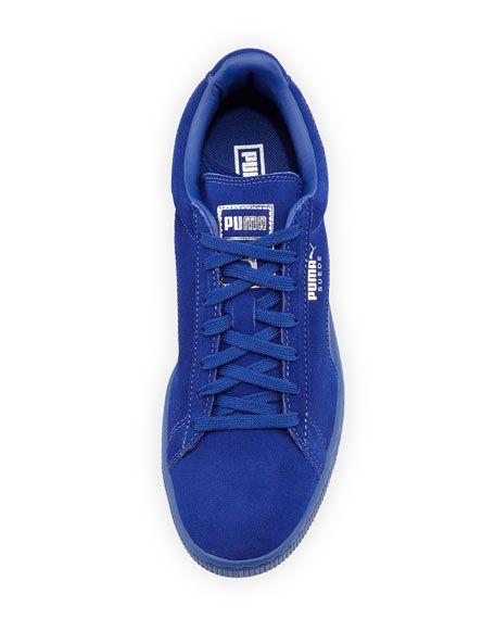 Men s Suede Classic Mono Reptile Sneakers dd5df9a69