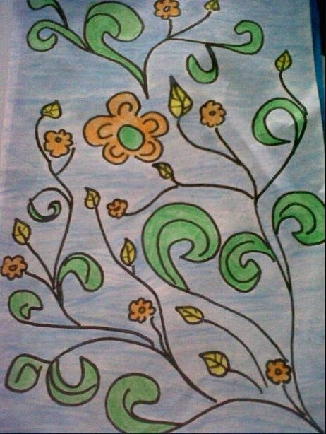 Contoh Gambar Batik Yang Mudah : contoh, gambar, batik, mudah, Menggambar, Batik, Motif, Parang, Rusak, Sangat, Mudah, Bagus, Hasilnya, Cute766