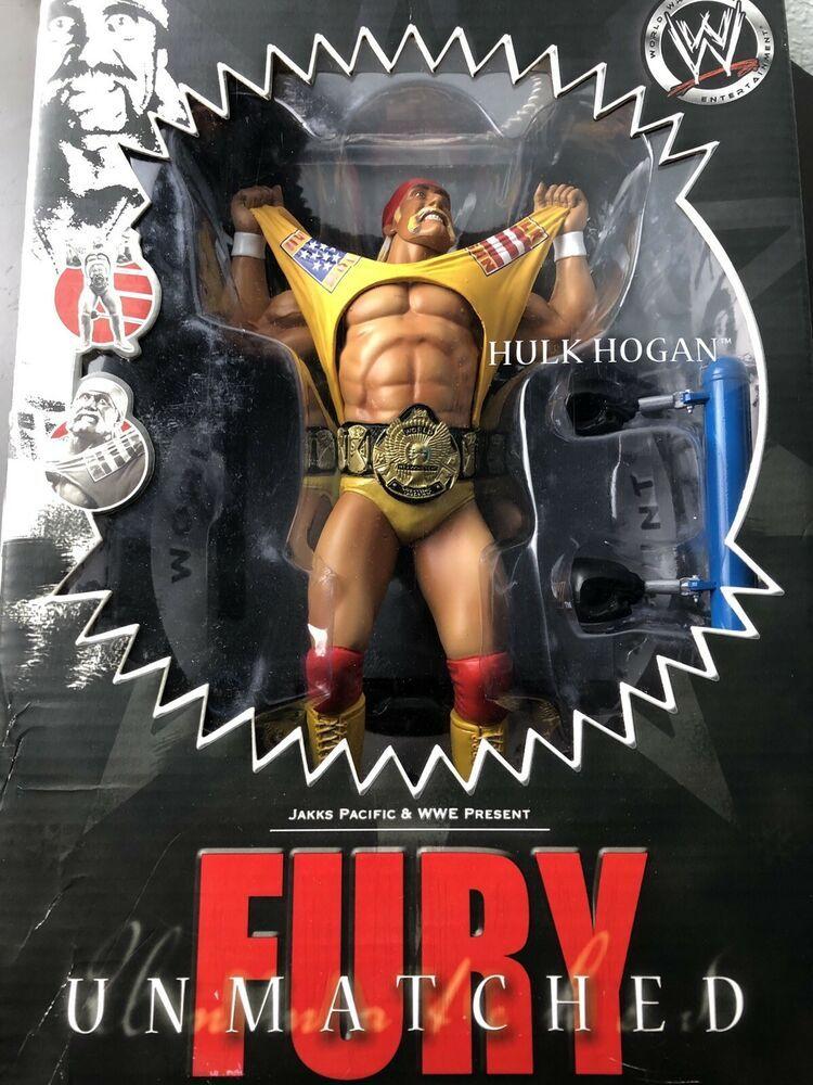 ANDRE THE GIANT HULK HOGAN BELT WRESTLEMANIA CLASSIC SERIES WRESTLING FIGURE WWE