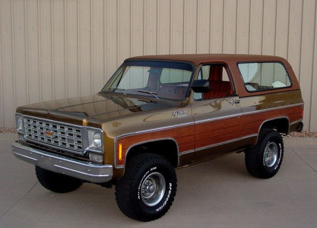 Moss Gold Honey Restored 1975 Chevrolet Blazer In 2020