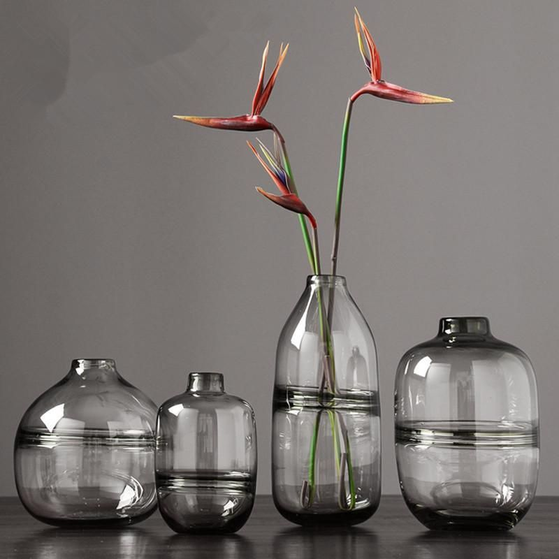 Our Minimalist Clear Glass Vases Are A Perfect Match For The