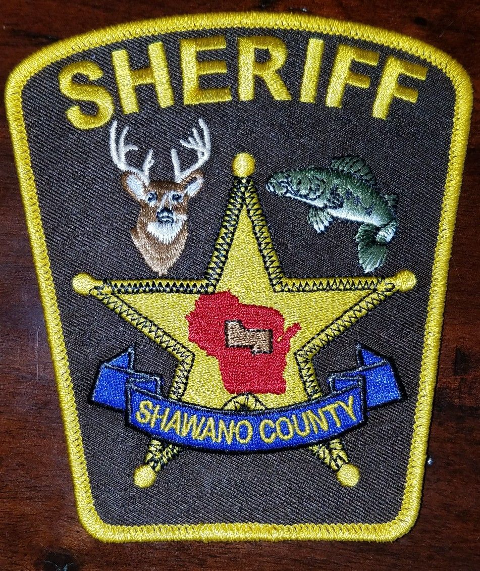 Shawano County WI Police patches, Law enforcement