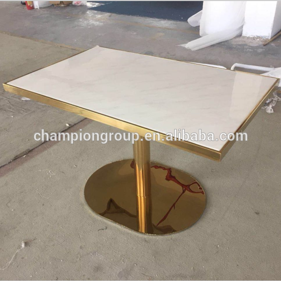 Rectangle Faux Marble Top Gold Plating Dining Table Buy 120cm Marble Top Rectangle Table Marblw Dining Table Marble White Marble Table Rectangle Dining Table