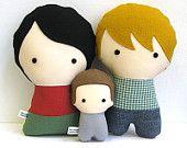 Muñecos personalizados y más cosas por citizenscollectible en Etsy