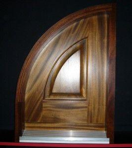 Arched Entry Door Sample | Window frames | Pinterest