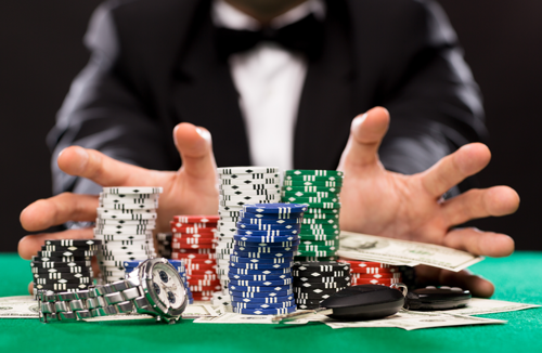 4 Rule Busted Poker Poker Chips Set Agen