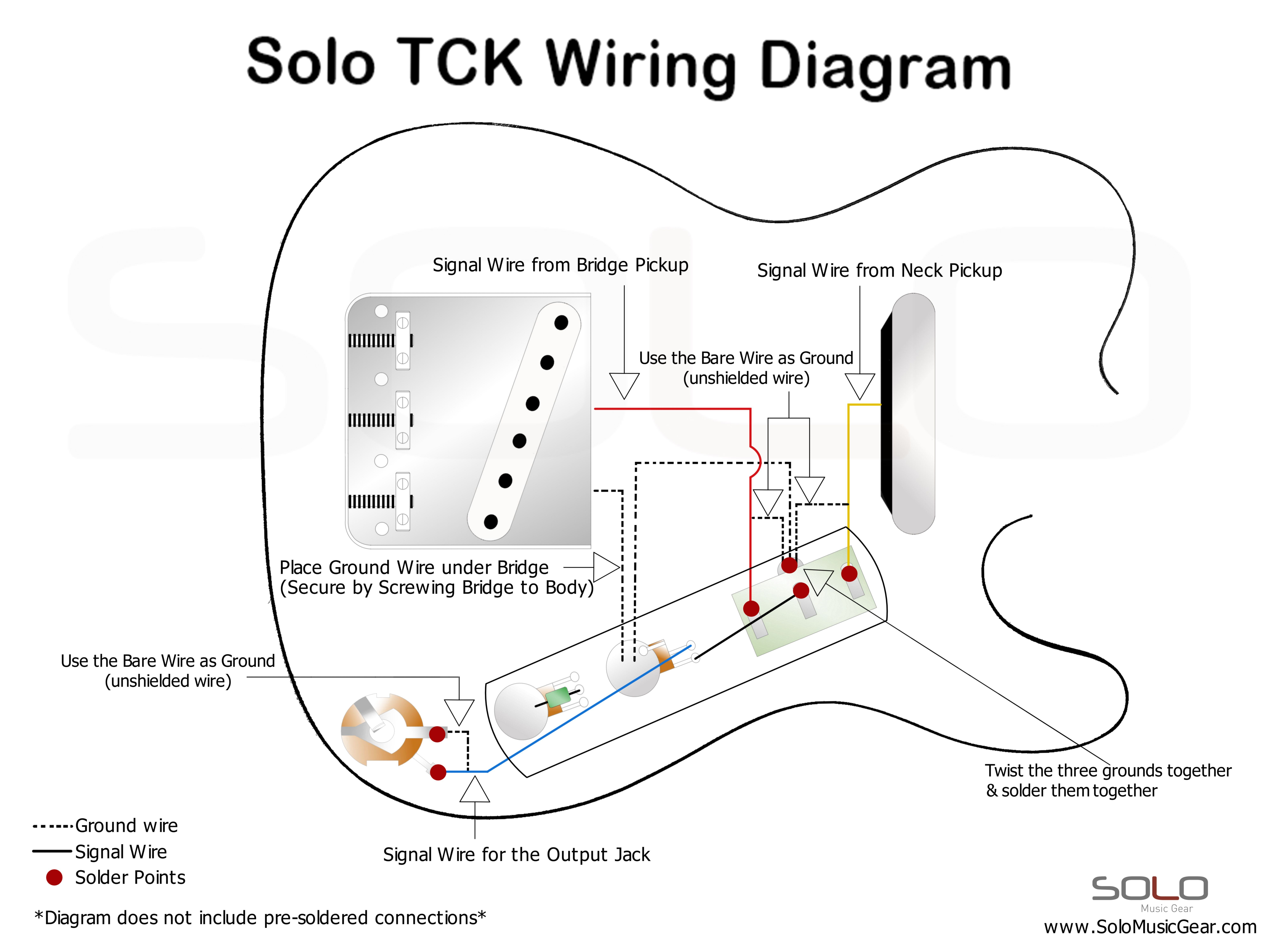 Solo Tc Thinline Style Wiring Guide