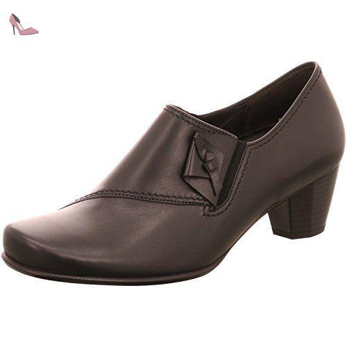 Gabor 95.361 17, Chaussures de ville femme - Noir (Samt Chevreau Schwarz), 41 EU (7.5 UK)
