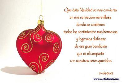 Mensaje positivo en deseos de navidad navidad - Deseos para la navidad ...