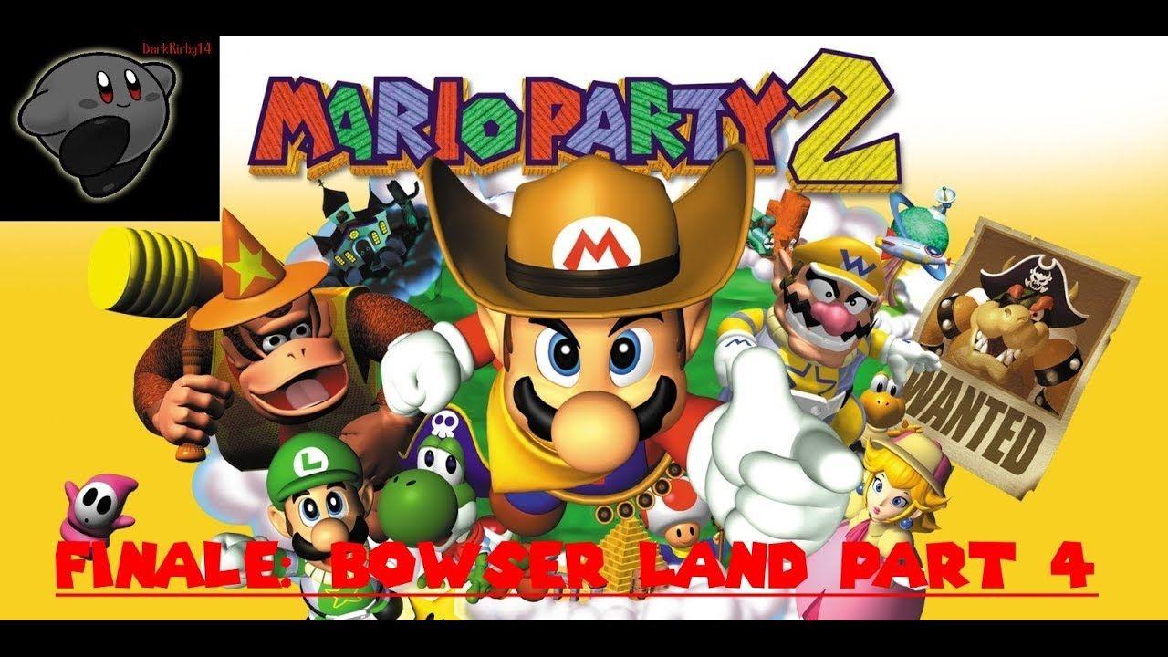 Mario Party 4 24 Finale Bowser Land Part 4 Mario Party