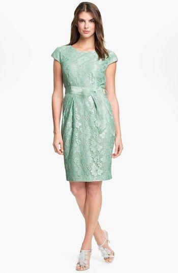 Mint lace dress nordstrom