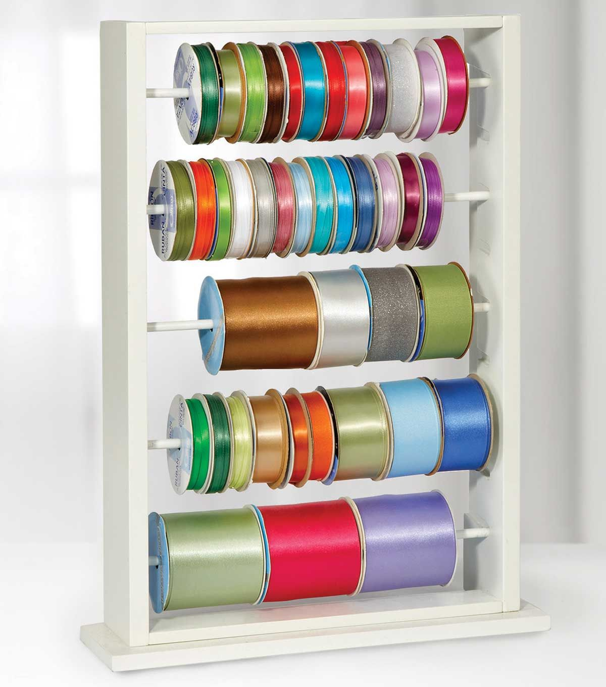 The Ribbon Ladder Is Designed To Hold Numerous Spools Of Various