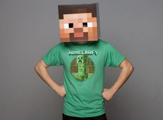 21 Perfect Halloween Costumes For Introverts Halloween costumes - minecraft halloween costume ideas