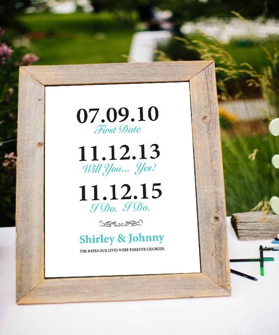 Personalised Engagement Gift Anniversary Gift For Husband Gift For