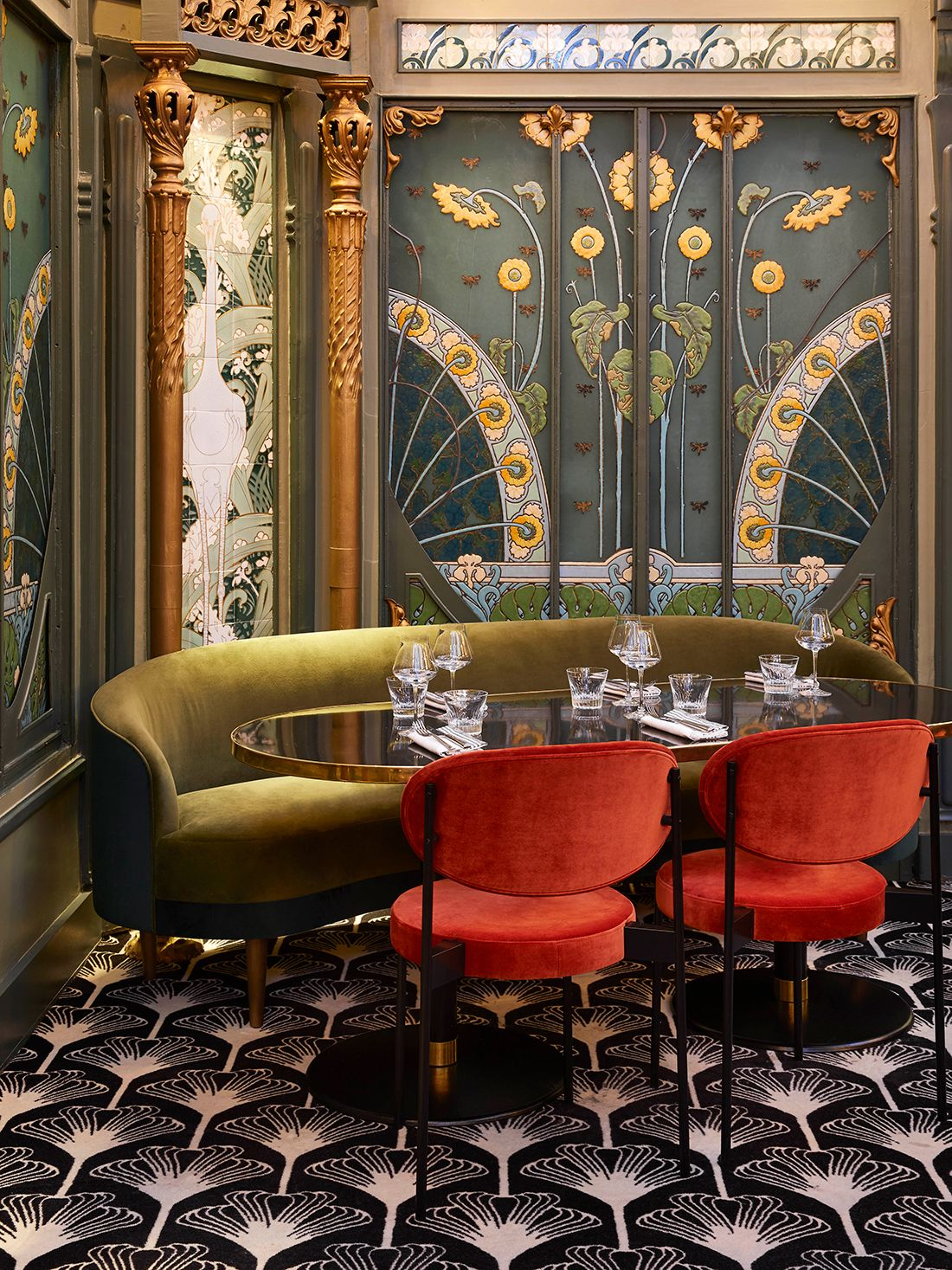 Currently Inspired By Art Nouveau Interior Interior Deco Art Deco Interior Design