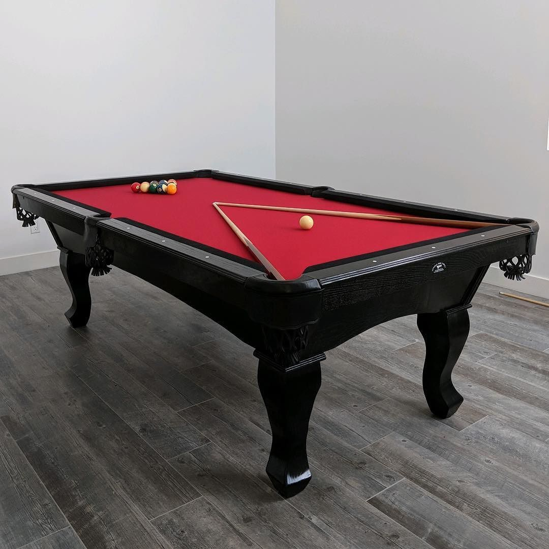 Finished Installing This Custom Pool Table From Admiral Pool Tables - Leveling pool table slate
