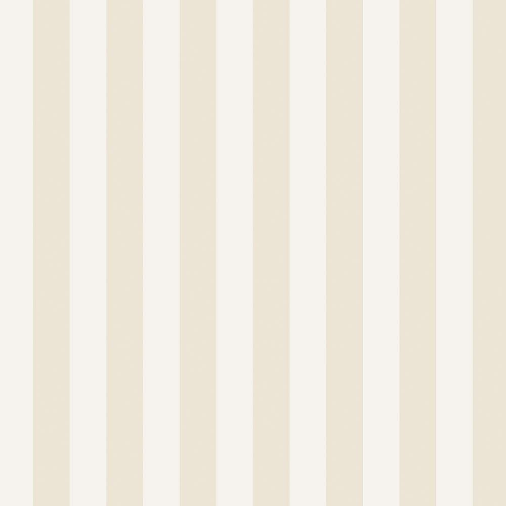 Norwall 1.25 in. Regency Stripe Wallpaper, Beige/ Cream