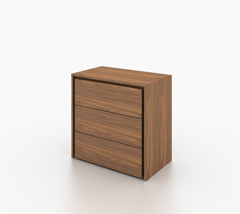 casabianca furniture zen walnut veneer tall dresser nightstand