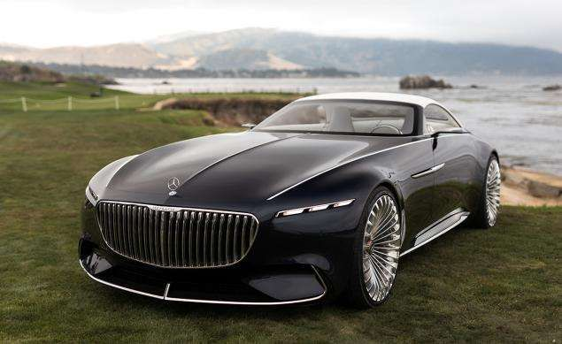 Mercedes Maybach 6 Cabriolet Concept With Images Mercedes
