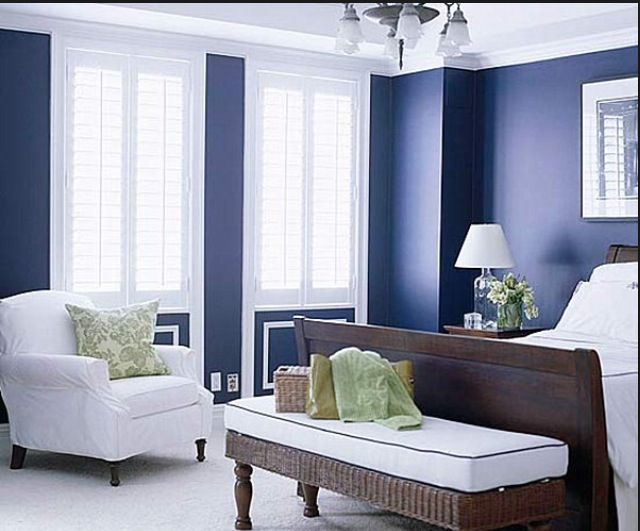 Clean Bedrooms Glamorous Nice And Clean Navy And White  Bedroom Decor  Pinterest  Navy Decorating Inspiration