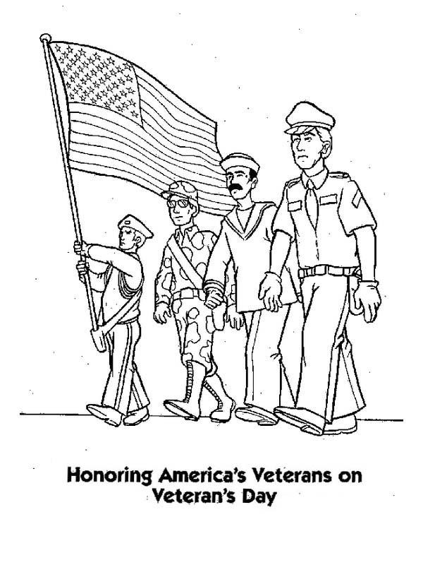 Honoring Us Veterans By Celebrating Veterans Day Coloring Page Color Luna Veterans Day Coloring Page Coloring Pages Coloring Pages Inspirational